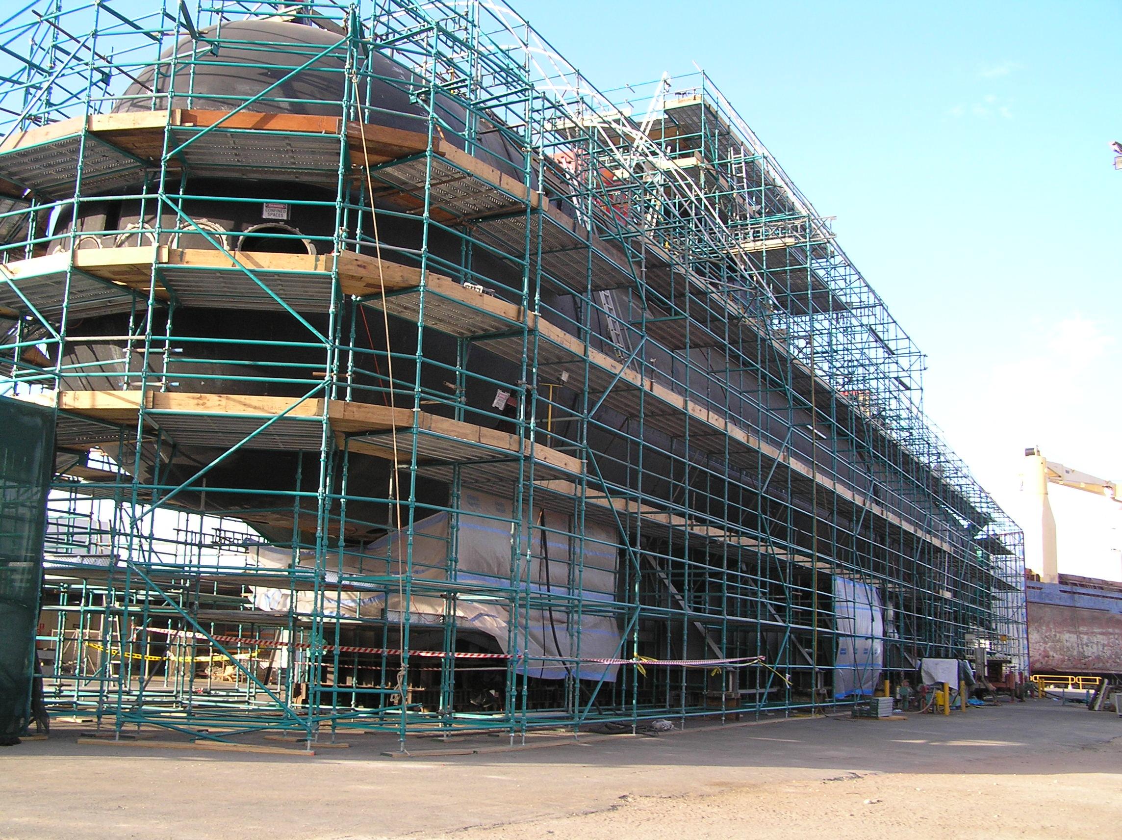 Universal Scaffolding Submarine : Gallery scaffolding hire perth western australia orvad wa