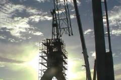 Garden Island Crane Demolition